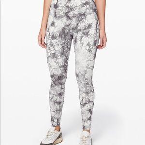 Lululemon athletica 7/8 length marble leggings